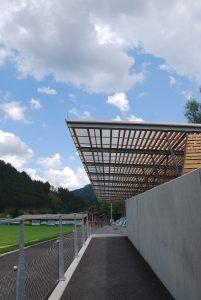 Tribuene Arena Hochschwab-Sued Thoerl